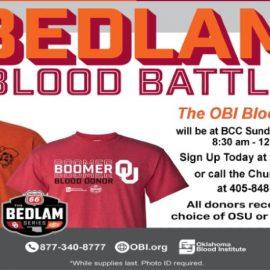 Bedlam Blood Drive